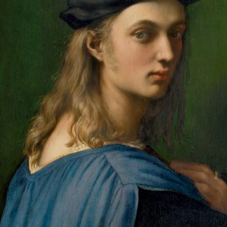 Raphael. Bindo Altoviti. Oil on panel, 59,7 x 43,8 cm (ca. 1516 - 1518) Washington, National Gallery of Art, Samuel H. Kress Collection 1943.4.33.
