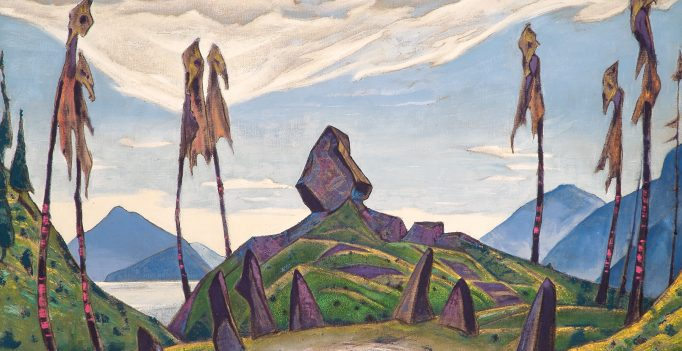 Nicholas Roerich, Set Design for Rite of Spring: Ritual Circle