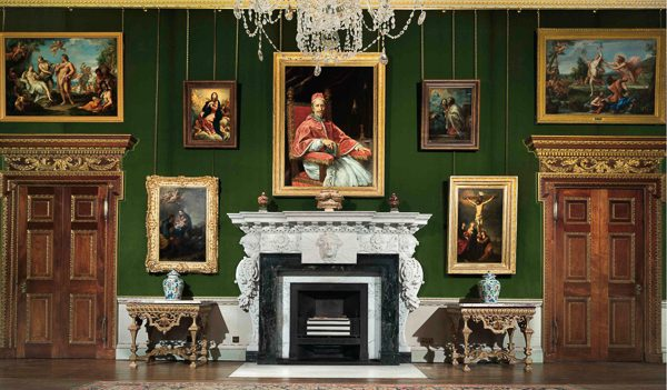 The Carlo Maratta Room, Houghton Hall. Photo John Bodkin.