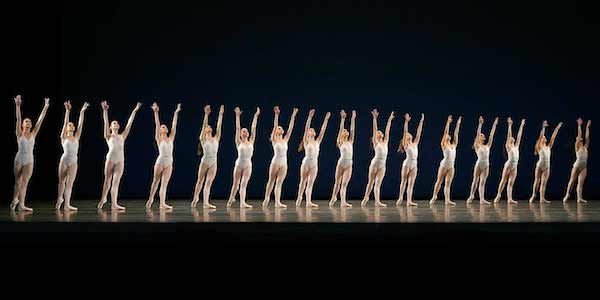 New York City Ballet in Balanchine-Stravinsky Symphony in Three Movements. Photo from nycballet.com.