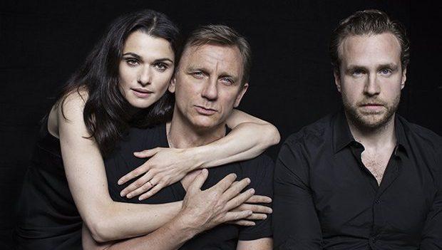Rachel Weisz, Daniel Craig, Rafe Spall