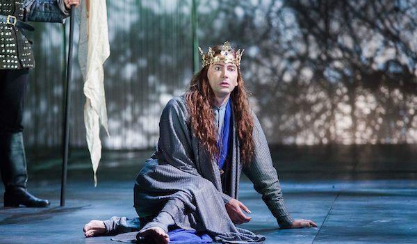 David Tennant as Richard II. Photo by Kwame Lestrade.