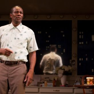 John Douglas Thompson in Satchmo at the Waldorf