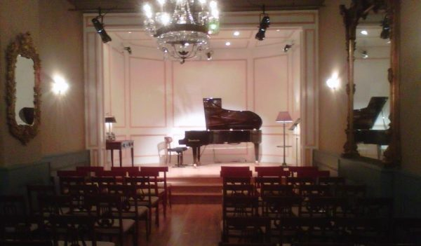 The Workshop for Music Performance concert hall.
