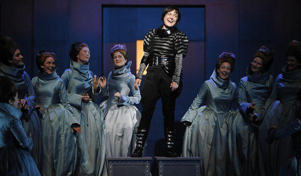 Marie Lenormand as Urbain in Meyerbeer's Les Huguenots