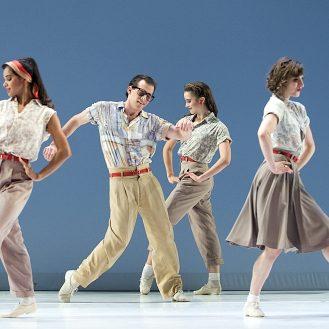 Paul Taylor American Dance: Company B. Photo Gene Schiavone.