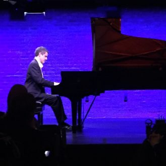 Stephen Porter playing Debussy at SubCulture, New York