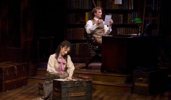 Megan McGinnis and Paul Alexander Nolan in Daddy Long Legs. Photo Jeremy Daniel.