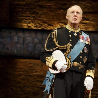 Tim Pigott-Smith as King Charles III. Photo © Joan Marcus.