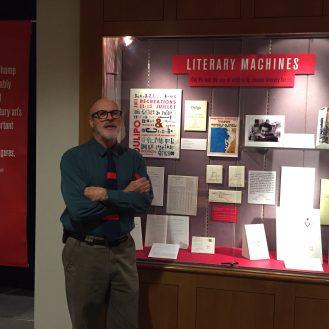 Dan Rose in the gallery