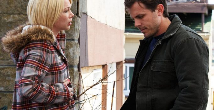 Michelle Williams and Casey Affleck in Manchester by the Sea.
