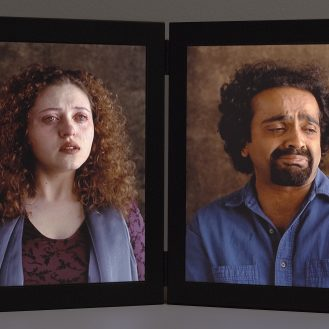 Dolorosa, 2000. Video diptych © Bill Viola. Photo The J. Paul Getty Museum, Malibu.