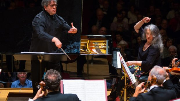Pappano, Argerich, and Prokofiev