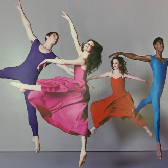 "The Dancers of George Mason University in Las Lubovitch's ""A Brahms Symphony"""