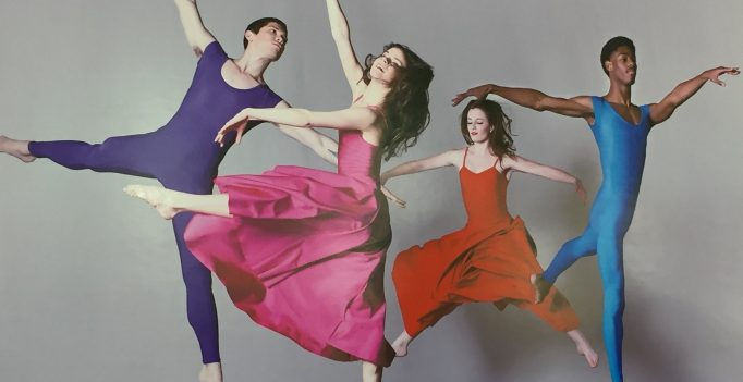 """The Dancers of George Mason University in Las Lubovitch's """"A Brahms Symphony"""""""