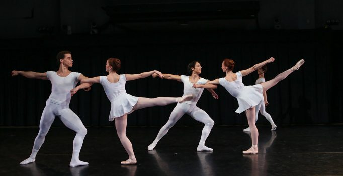 New York Theatre Ballet in Jerome Robbins' Septet. Photo © Julie Lemberger.