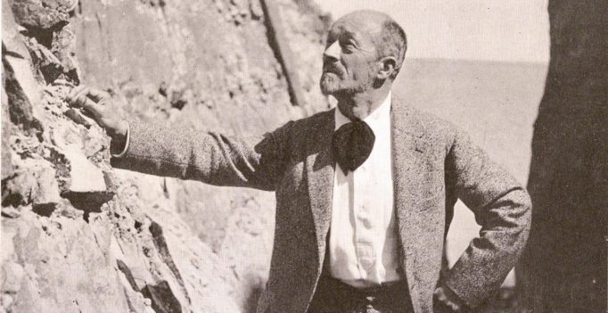 Albert Roussel in the Gorge du Petit Ailly near Dieppe