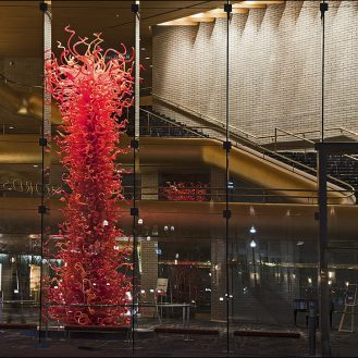 Chihuly, Olympic Tower, Abravanel Halle, Salt Lake City