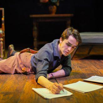 Dominic (Darwin del Fabro) composing.
