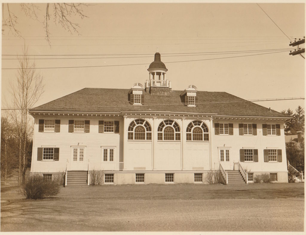 The Berkshire Playhouse in the 1930s, before it became the Berkshire Theater Festival.