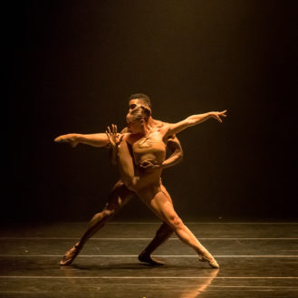 Shanna Irwin and Jared Brunson In Bach 25.