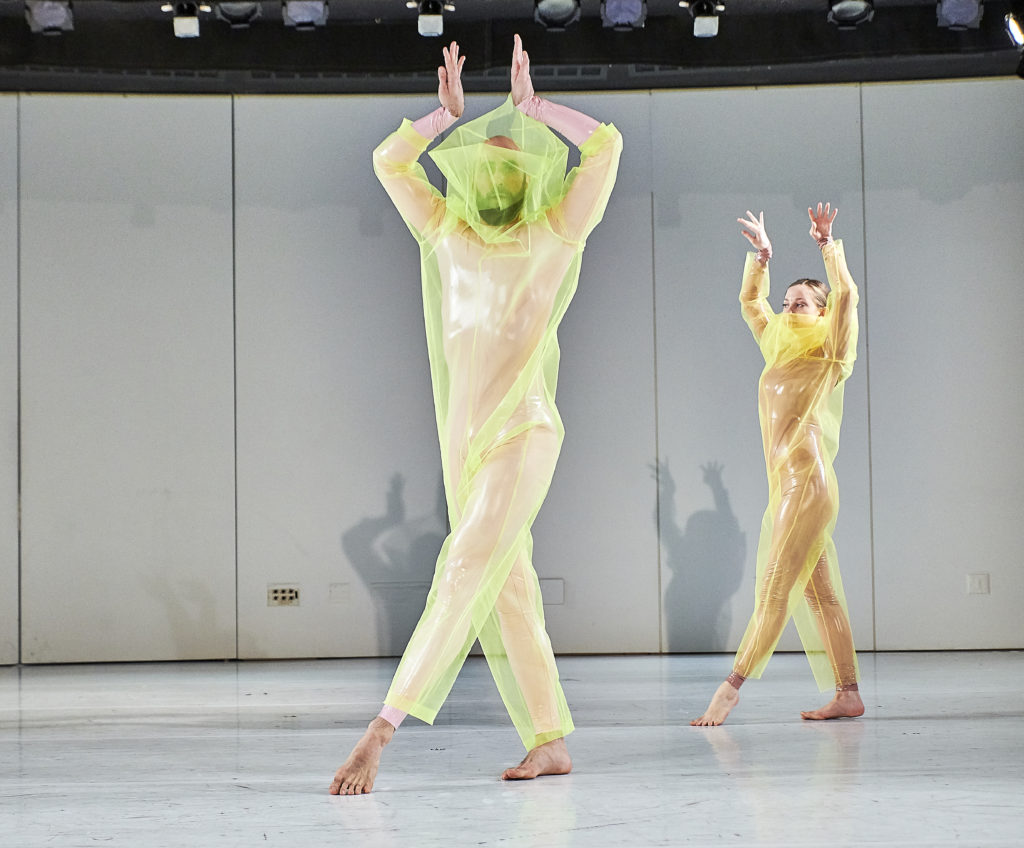March 25, 2018- New York, NY Costume design takes center stage at the Guggenheim Museum's Works & Process presentation in this new work devised by designers Reid Bartelme and Harriet Jung in collaboration with their favorite clients and choreographers, Lar Lubovitch, Pam Tanowitz, Jack Ferver, Gwen Welliver, and Burr Johnson. Photo Robert Altman.