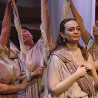 in Benjamin Britten's The Rape of Lucretia