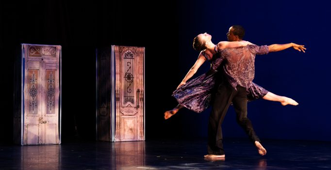 The Amanda Selwyn Dance Theater in Crossroads. Photo Hayim Heron.