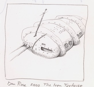 Dan Rose, The Iron Tortoise, 2000
