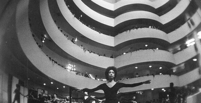 Dance Theatre of Harlem New York Company Premiere, January 1971. Photo by Suzanne Vlamis.