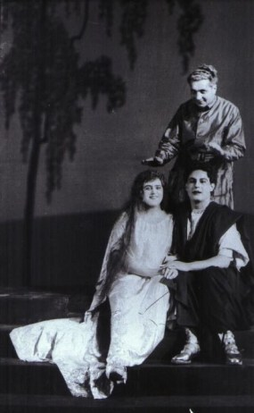Lotte Lehmann, Jan Kiepura, and Lothar Wallerstein in a Rehearsal for the Hamburg Premiere of Das Wunder der Heliane.