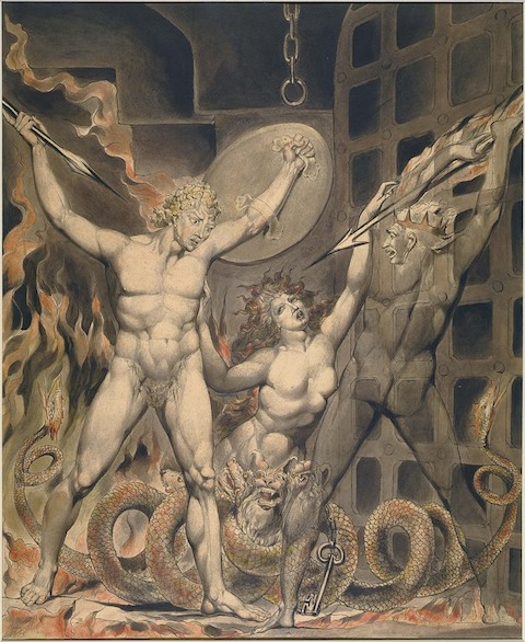 William Blake, Satan, Sin, and Death.