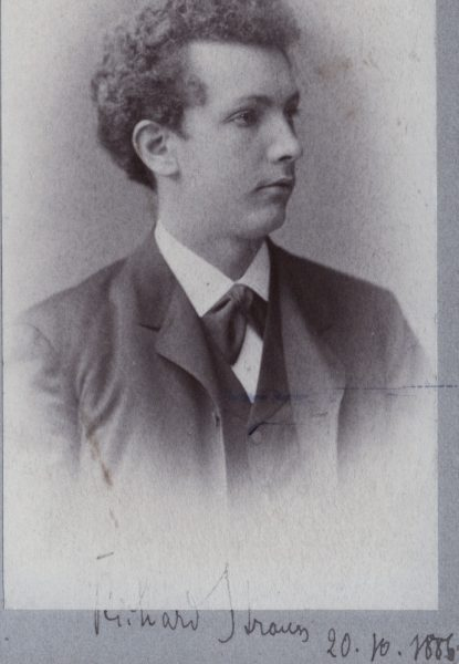 Richard Strauss, 1886