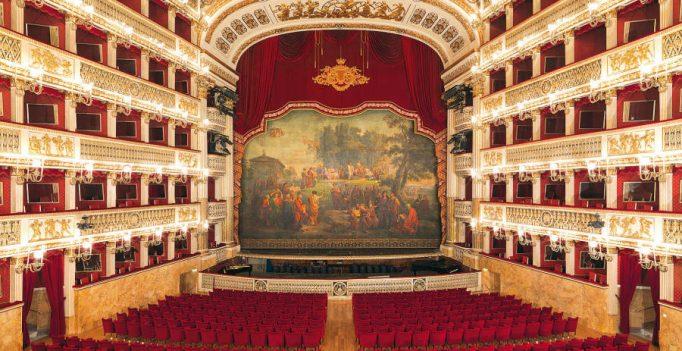Teatro San Carlo, Naples, Empty