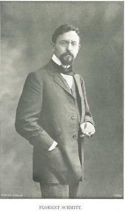 Florent Schmitt, 1913.